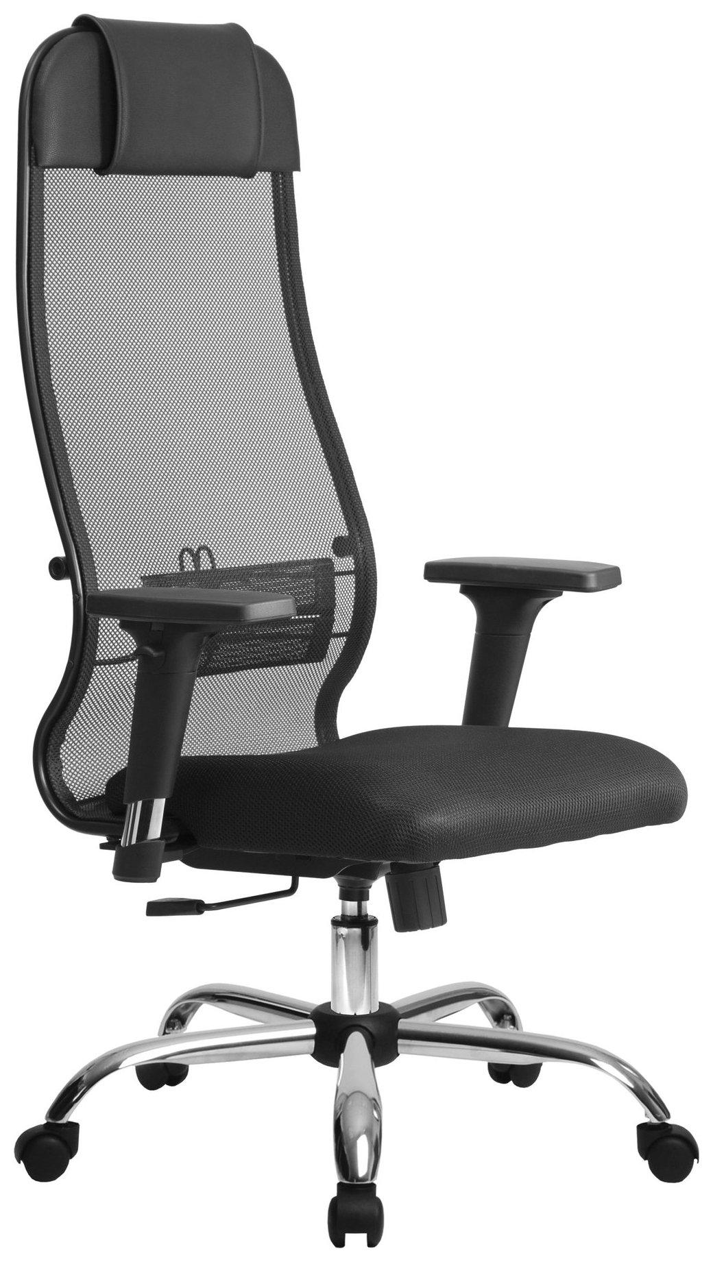 Купить Кресло для руководителя МЕТТА Комплект 18/2D CH за 10178 ₽ в Новокузнецке — интернет-магазин VITTO